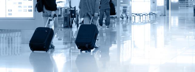 Photo sur Toile Aeroport Passengers going to travel