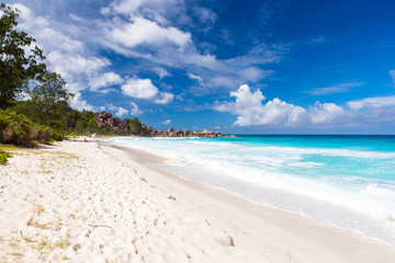 Grand Anse Strand, La Digue - Seychellen