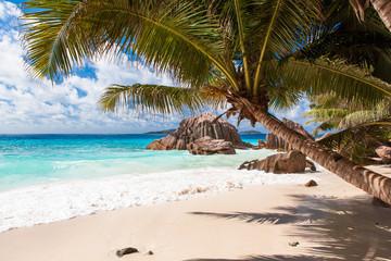 Anse Patates Strand, La Digue - Seychellen