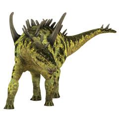 Gigantspinosaurus Herbivore Dinosaur - Gigantspinosaurus was a herbivorous Stegosaur dinosaur that lived in the Jurassic Age of China.