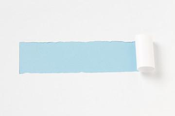 引き裂かれた紙/メッセージを書くスペース有り