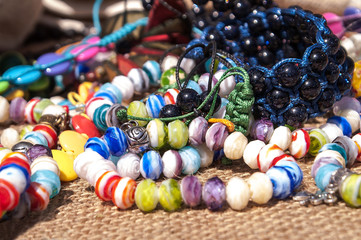 Different costume jewelry