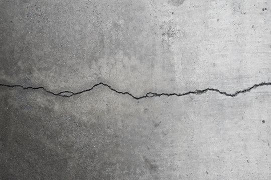 Cracking concrete on ground 4