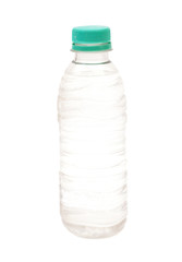 Small water bottle isolated