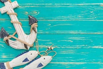 Vintage Anchor / Vintage Anchor Background