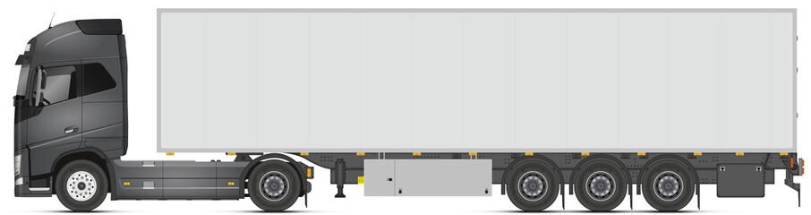 Camion + remorque V1