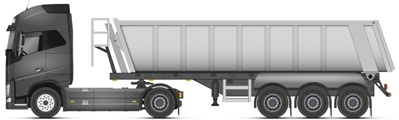 Camion grande benne
