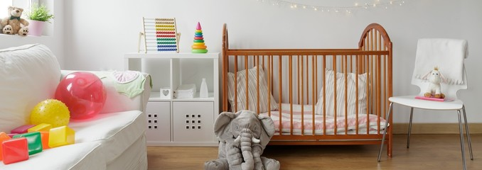Beautiful room for baby child