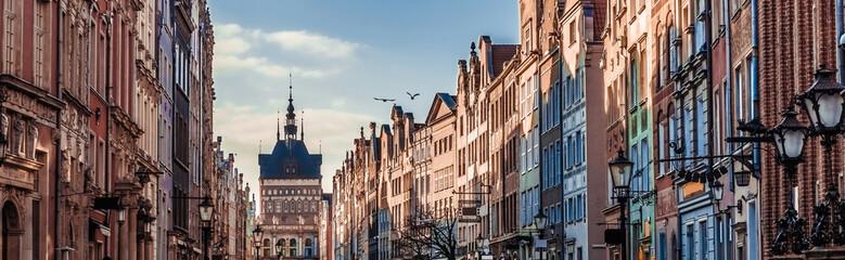 Fototapeta Historic Old Town of Gdansk in Poland obraz