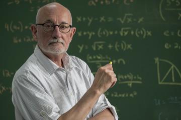 Portrait of a proud, male professor
