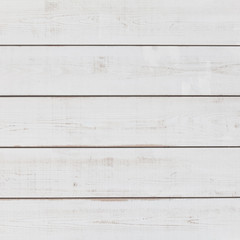 Vintage white wood plank as texture and background..