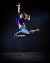 Modern dancer girl (normal ver)