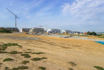 Baustelle im Neubaugiet