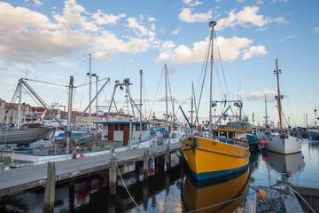 Port at Perth Australia