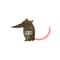retro cartoon rat