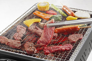 Tuinposter Grill / Barbecue バーベキューイメージ