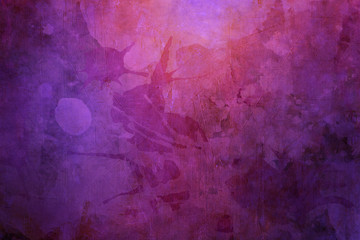purple grunge  background Wall mural