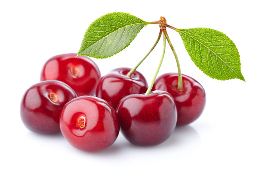 Sweet cherry in closeup
