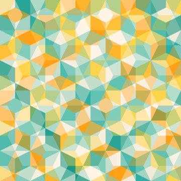abstract geometric mosiac pattern