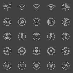 Wi-fi icons