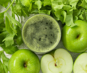 apple and vegetable juice