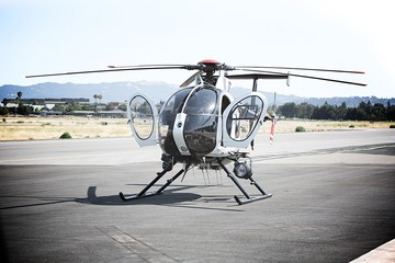 MD 530 Helicopter