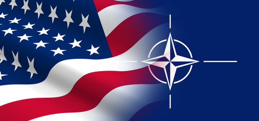 The concept of political relationships the United States with NATO.