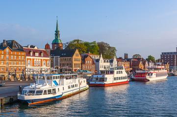 Kappeln Hafen- Ausflugsschiffe