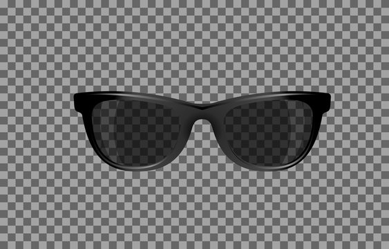 translucent glasses with red tint for photomontage