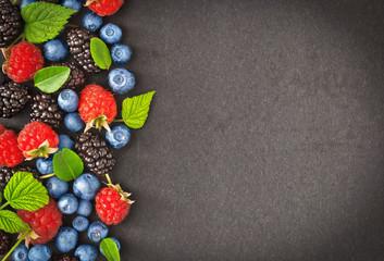 Fresh juicy berries