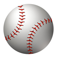 Baseball in simple design