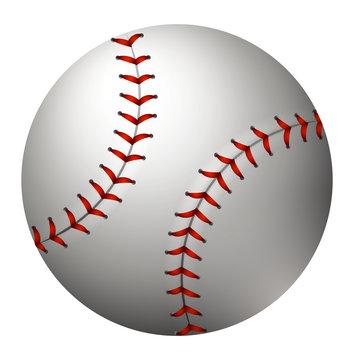 Baseball in simple design