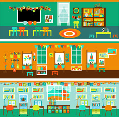 Elementary School Classroom/Playroom Set