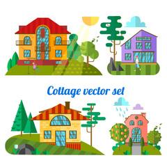 flat houses