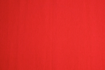 Red woven cotton fabric texture.
