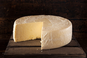 Large Organic White Cheese Wheel