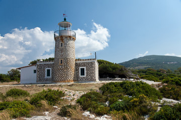 Lighthouse in Zakynthos