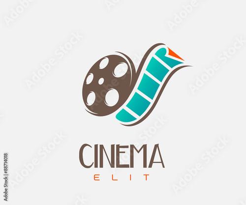 """film strip cinem... Cinema One Logo"