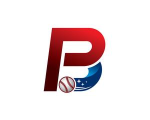 pb baseball logo
