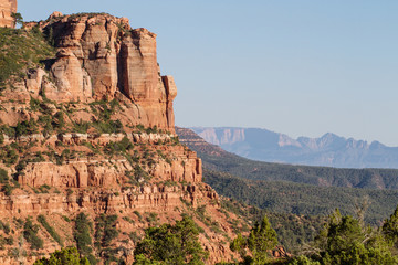 Kolob Canyons section of Zion National Park in southern Utah
