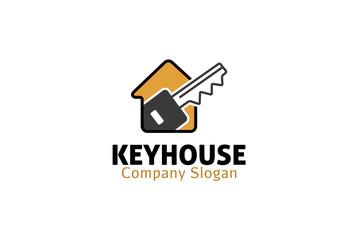 Keyhouse Logo template