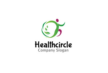 Health Circle Logo template