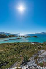 Sommaroy in Troms, Norway,
