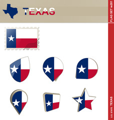 Texas Flag Set, Flag Set #281