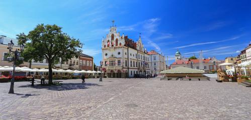 Obraz Rzeszow / the old town squere - fototapety do salonu
