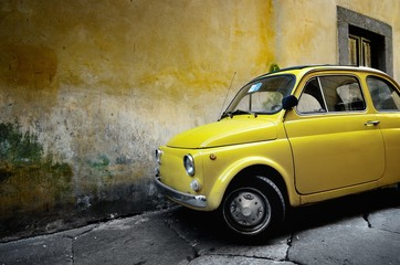 Wall Mural - Italian old car