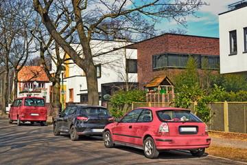 Cadres-photo bureau Voitures enfants Wohnsiedlung