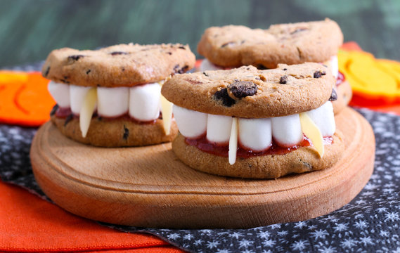 Dracula's Dentures for Halloween