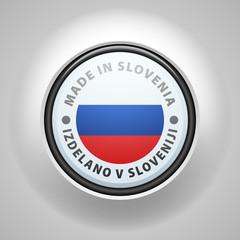 Made in Slovenia (non-English text - Made in Slovenia)