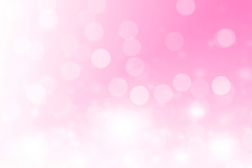 Pink and Blue Bokeh Background